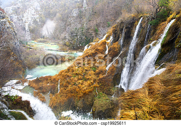 Plitvice Lakes National Park - csp19925611