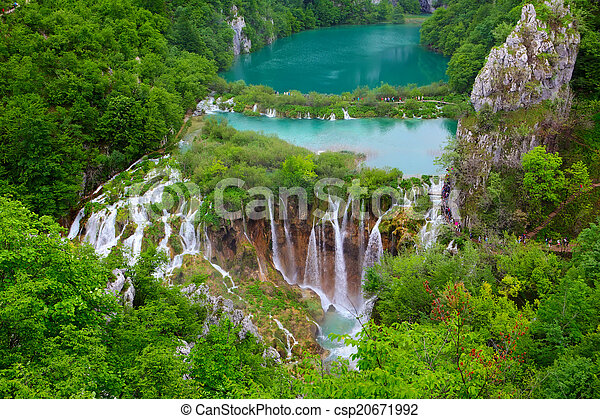 Plitvice Lakes National Park - csp20671992
