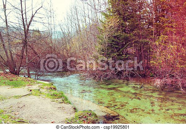 Plitvice Lakes National Park - csp19925801
