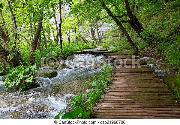 plitvice, nemzeti park - csp21968708