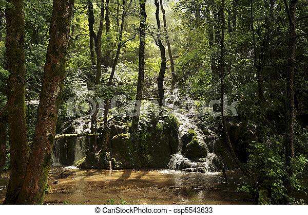 Plitvice waterfalls - csp5543633
