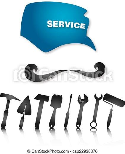 Fontanero con herramientas - csp22938376