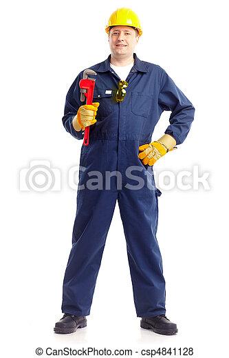 Trabajador de ciruelas - csp4841128