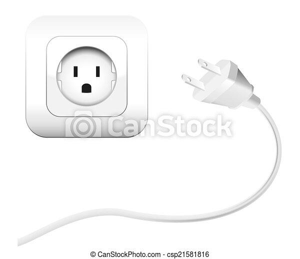 Plug and Socket NEMA connector - csp21581816