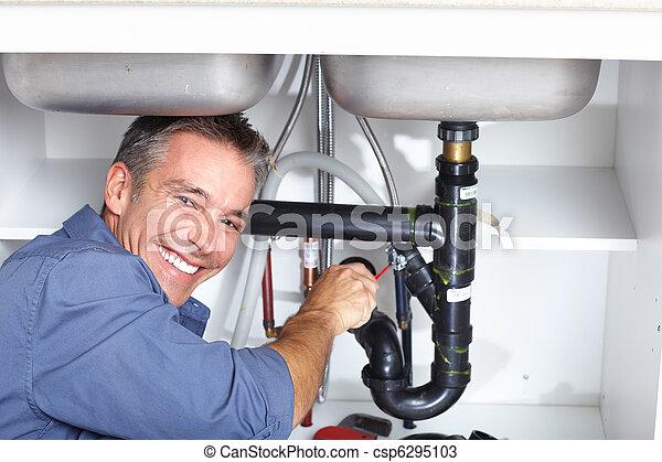 plumber. - csp6295103