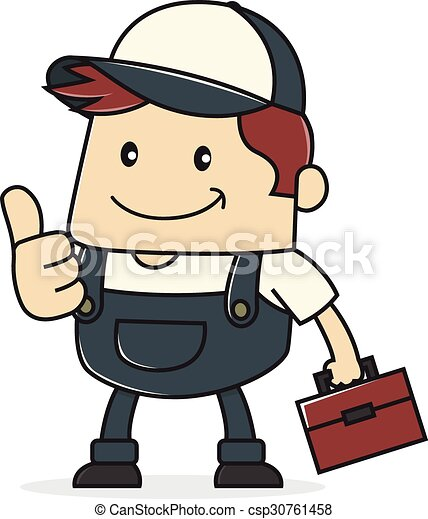 cartoon illustration of a plumber clipart vector search rh canstockphoto co uk plumbing clip art images plumbing clipart images
