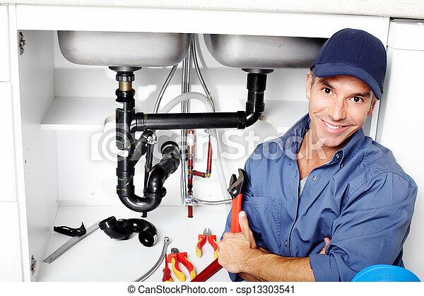 plumber. - csp13303541