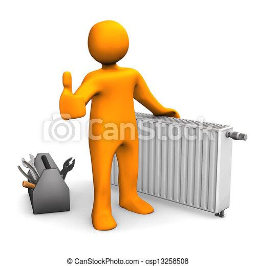 Plumber Heater Ok - csp13258508