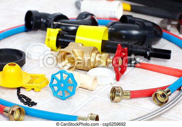 Plumber  tools  - csp5259692