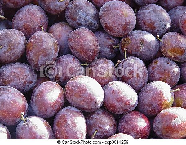 plums - csp0011259