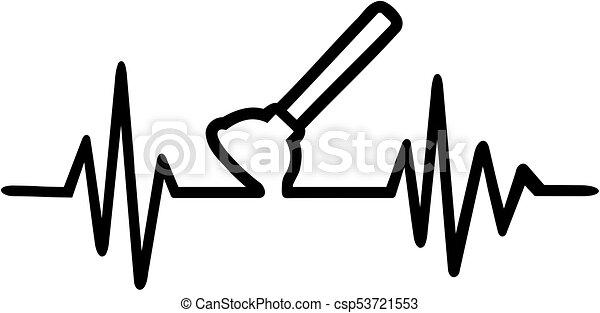Plunger heartbeat line - csp53721553