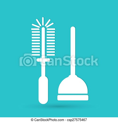 Plunger Vector Illustration - csp27575467
