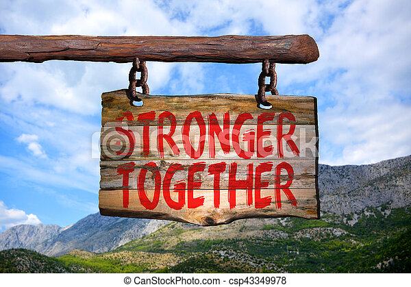 plus fort, ensemble - csp43349978