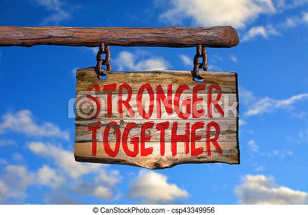 plus fort, ensemble - csp43349956
