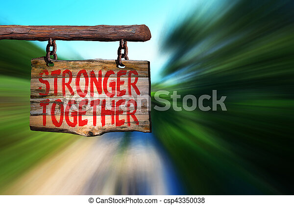 plus fort, ensemble - csp43350038