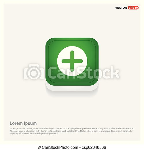 Plus Icon - csp62048566