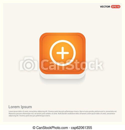 Plus Icon - csp62061355