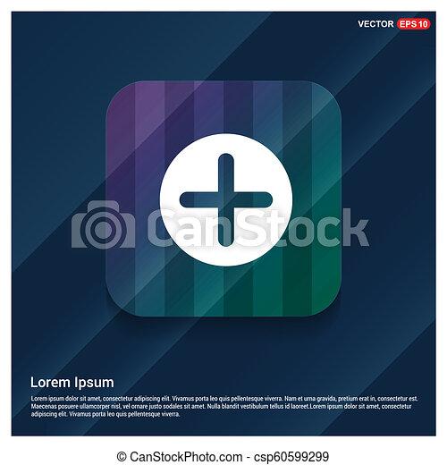 Plus Icon - csp60599299