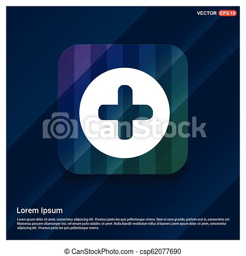 Plus Icon - csp62077690