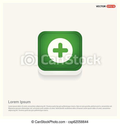 Plus Icon - csp62056644