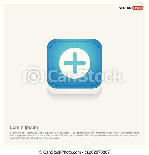 Plus Icon - csp62078887