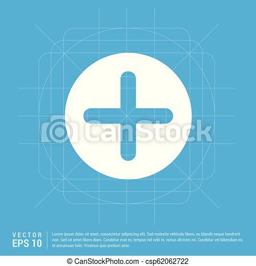 Plus Icon - csp62062722