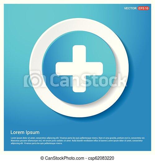 Plus Icon - csp62083220