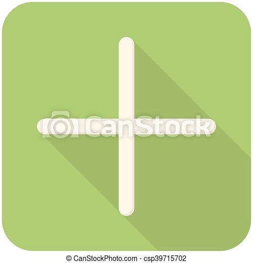 Plus icon - csp39715702