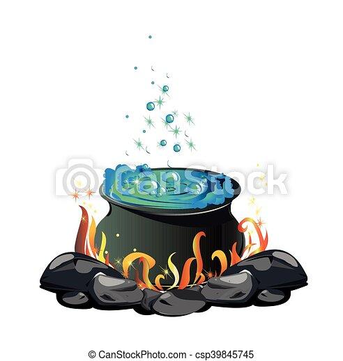 poção, cauldron - csp39845745