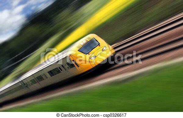 pociąg - csp0326617