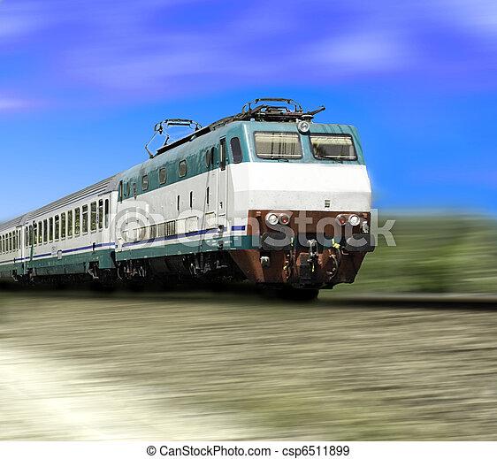 pociąg - csp6511899