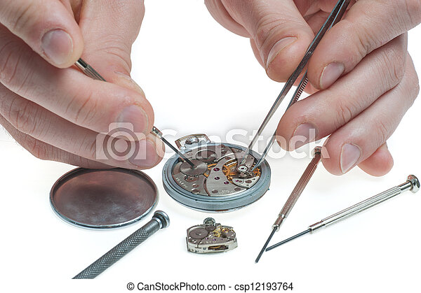 how to fix a pocket watch