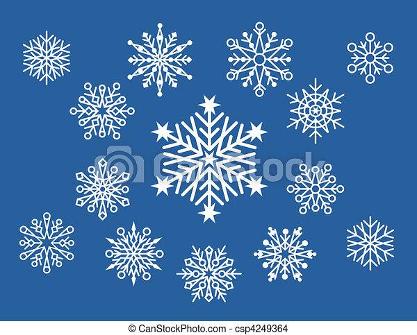 poco progetta fiocco di neve individuale 14 designs