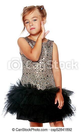Poco Vestido Niña Moderno Poco Dress Belleza Moderno