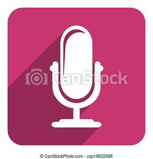 podcast, アイコン - csp19622568