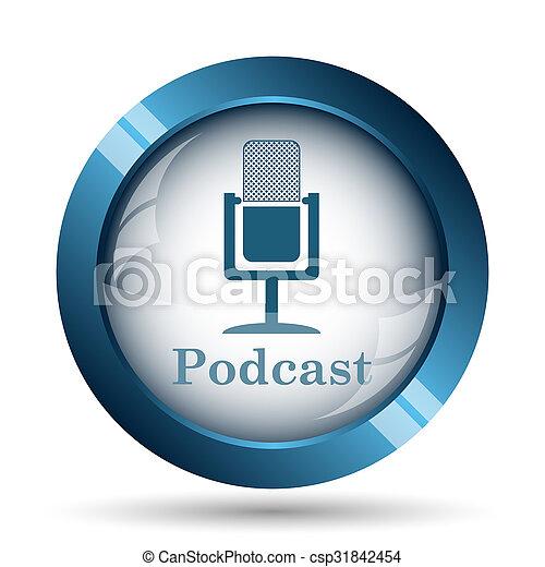 podcast, アイコン - csp31842454