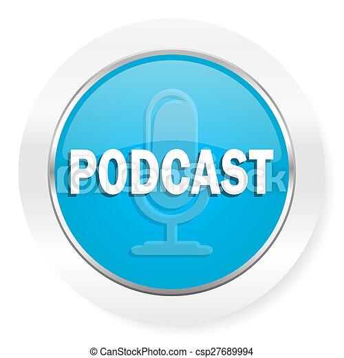 podcast, アイコン - csp27689994