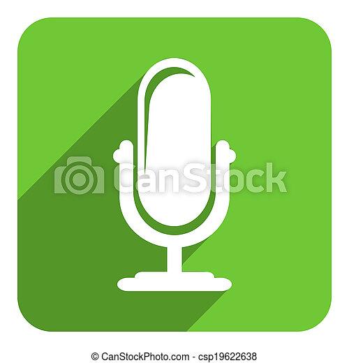 podcast, アイコン - csp19622638