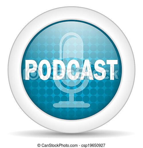 podcast, アイコン - csp19650927