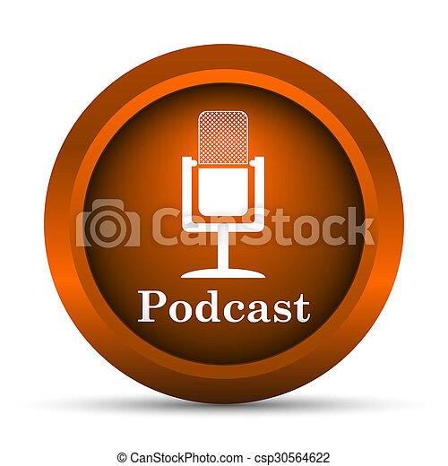 podcast, アイコン - csp30564622