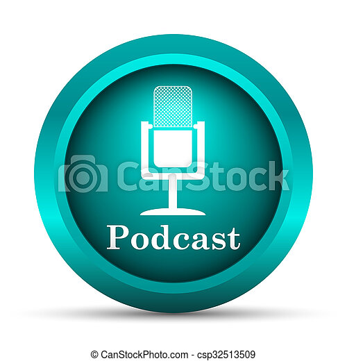 podcast, アイコン - csp32513509