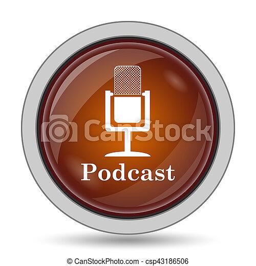podcast, アイコン - csp43186506