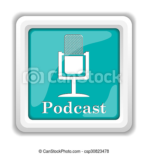 podcast, アイコン - csp30823478