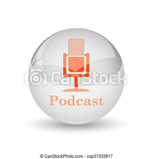 podcast, アイコン - csp31333817