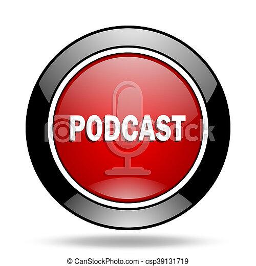podcast, アイコン - csp39131719