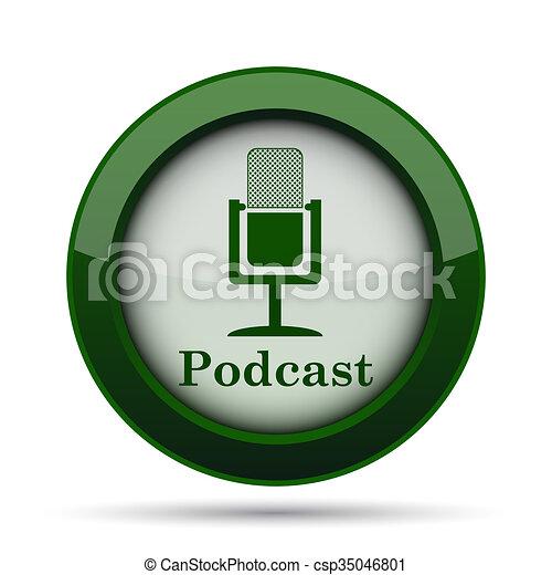 Podcast icon - csp35046801