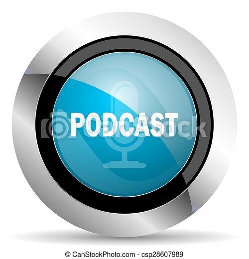 podcast icon - csp28607989