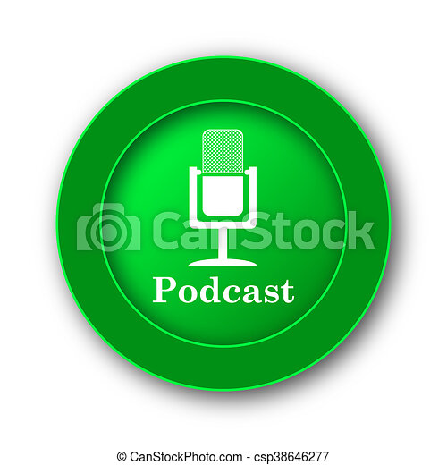 Podcast icon - csp38646277