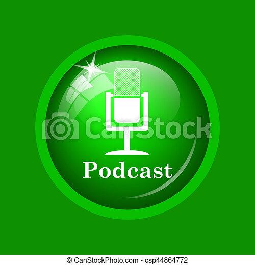 Podcast icon - csp44864772
