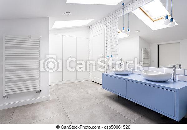 Poddasze łazienka Okno Wygodny